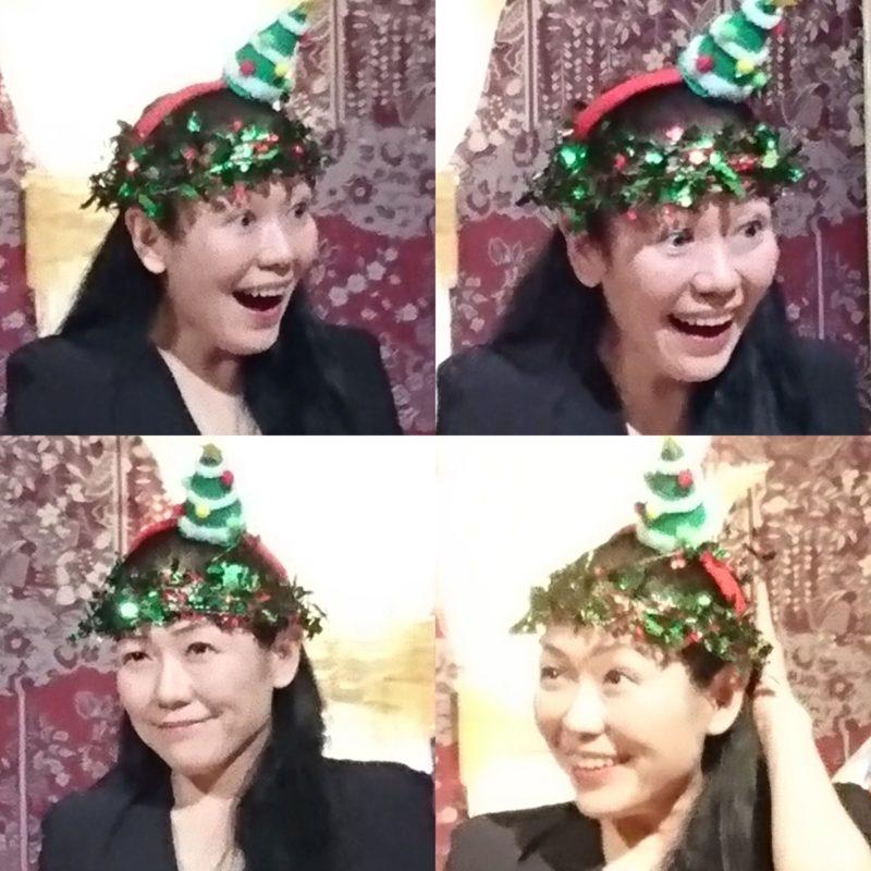 ウルフ村田_クリスマスパーティにて
